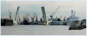 проект нового моста через Неву