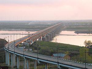 История хабаровского моста