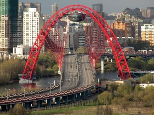 Проект моста в Серебряном Бору