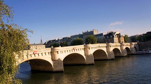 Старый Новый мост в истории Парижа