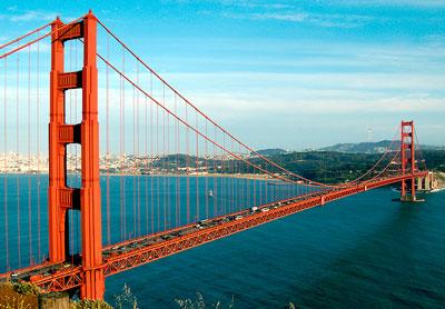 """Мост """"Золотые ворота"""" Сан Франциско"""