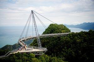 Пешеходный мост Лангкави