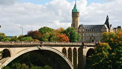 Мосту Адольфа в Люксембурге