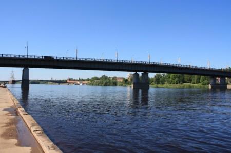 Мост им. А. Невского через Волхов