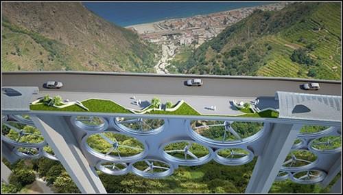 солнечный мост Solar Wind в Калабрии